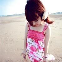 夏日清凉的美女微信头像图片18张